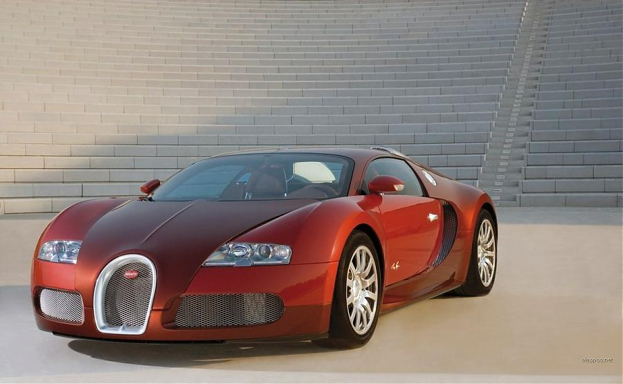 bugatti veyron red front parking view cars motorcycles trucks and all veh. Black Bedroom Furniture Sets. Home Design Ideas